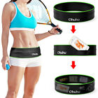 Running Belt, Training Workout Belt Sport Exercise Waist Packs Storage Flip Hold image