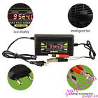 12V/6A Smart Leadacid Battery Charger for Car Motorcycle LCD Display US/EU 1206D