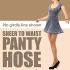 (Free shipping) Sheer to waist pantyhose / no girdle line shown