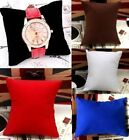 Retail 5 Colors Watch Bracelet Jewelry Display Pillow Cushions Holder ^