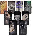 Harry Potter Star Wars Horse Leather Wallet Card Case Cover For iphone 7 Plus