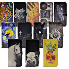 Harry Potter Horse Supernatural Leather Wallet Cash Card Case Cover For iphone 7