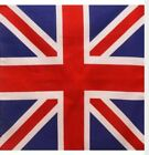 Bandana Flag Cotton Union Jack Blue Red White Square  British Empire 55x55cm