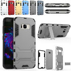 Hybrid Shockproof Armor Slim Stand Case Cover For Samsung Galaxy S8 / S8 Plus