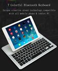 Bluetooth Keyboard Tablet Stand Wireless For Touchpad All Size iPad/Mini Cover