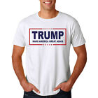 US -SALE Donald Trump for President Make America Great Again T Shirt Tops Unisex