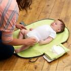 Infant Baby Changing Mat Nappy Travel Foldable Wipe Clean Portable Handbag Style