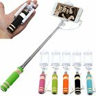 Mini Pocket Selfie Stick Telescopic For Samsung Galaxy S7 S6 Edge S6 S5 S4