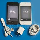 Apple iPod Touch 4th Generation 8/16/32 GB Black or White plus Accessory Bundles
