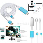 8 Pin Lightning to HDMI HDTV AV Cable Adapter for iPhone 7 6s 6 Plus 5 iPad Air2