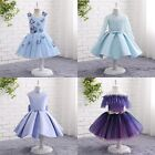 Princess Girls Pageant Party Dresses Girls Birthday Gowns Flower Girls Dresses