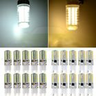 20x 110V G9 5W 64SMD LED 3014 Bulb Energy Saving 360° 700LM Warm/Cold White Lamp