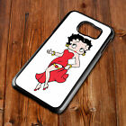 Betty Boop 167 Cover Back Phone Case Fits Samsung S4 S5 S6 S7 S8 EDGE PLUS £6.99 GBP on eBay