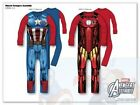 Marvel Avengers Iron Man & Captain America Fancy Dress-Super Hero 4-5, 6-7 Years