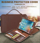 Luxury Genuine Leather Bag Carrying Holder Case Cover For iPad 234/mini/ Air/Pro
