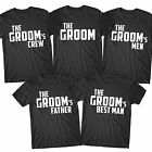Stag Party T Shirts Stag Do Hen Wedding Bachelor Top Custom Personalised - GR10