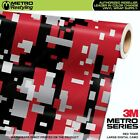 LARGE DIGITAL RED TIGER Camouflage Vinyl Car Wrap Camo Film Sheet Roll Adhesive