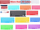 """Silicone US Keyboard Skin Cover Film For MacBook Air Pro Retina 11"""" 12"""" 13"""" 15"""