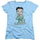 Betty Boop ENCHANTED BOOP Mermaid Licensed Women's T-Shirt All Sizes $27.6 CAD