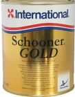International Schooner Gold Gloss Varnish 750ML Marine Boat Yacht Paint
