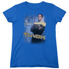 Star Trek Voyager TUVOK Licensed Women's T-Shirt All Sizes on eBay