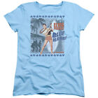 Elvis Presley BLUE HAWAII POSTER Licensed Women's T-Shirt All Sizes