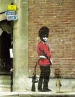 Banksy - Guardsman having a pee  - quality glossy photo print A4 or A5