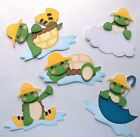 3D - U Pick - RD2 Rainy Day Turtle Chick Bear Frog Scrapbook Card Embellishment