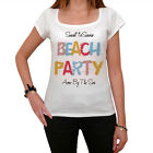 Avon By The Sea, Beach Party Tshirt, Blanc Tshirt Femme, Cadeau Tshirt