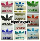 ADIDAS Vinyl Decals Labels Letters for Theme Hats Balloons Birthday Party Plates