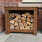 Langham Minor Outdoor Wooden Logstore - Heavy Duty