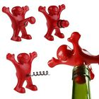 Novelty Happy Man Wine Bottle Stopper Opener Corkscrew Party Drink Beer Bar Tool