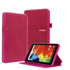 Folio PU Leather Case  Cover for RCA 7 Voyager & RCA Voyager II 7 inch Tablet