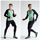 4 Color Gym Mens Front Flank T Shirts Fitness Athletic Musclefit Casual Sports Q