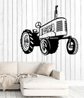 Wall Decal Tractor Machine Farm Work Building Home Interior Decor z4705