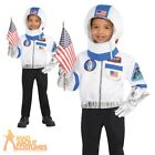 Child Astronaut Costume Boys Girls Space Fancy Dress Outfit Book Week Day