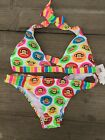 NWT Paul Frank Swimsuit Bikini 100% Authentic Free Shipping All Size --Clearance