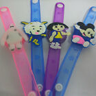 Adjustable Supplies Flash Light Up Led Wrist Watch Bracelet Kids Toy Gift Party
