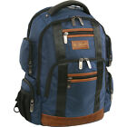 Original Penguin Luggage Peterson 9 Pocket Business & Laptop Backpack NEW