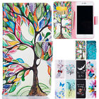 For iPhone 7 Plus Soft Leather Folio Stand Card Pocket Rubber Case Fashion Cover