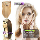 Popular Sell 100% Remy human hair half wig for 3/4 Half head easy use all colors