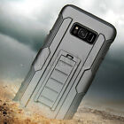 Hybrid Shockproof Armor Case Stand Cover For Samsung Galaxy S8 / S8 Plus