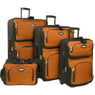 Traveler's Selection Amsterdam 4-Piece Luggage Set 4 Colors