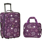 Rockland Luggage Rio 2 Piece Carry On Luggage Set 30 Colors