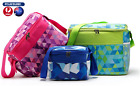 SANNE Insulated Lunch Bag -Zip Closure   Pockets  Cooler Lunch Box for Men, Wome