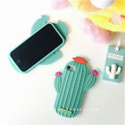 Funny Cute Fresh pineapple roses cactus Soft case cover for iphone 7 6 6S plus