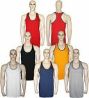 Vest Mens Summer Gym Muscle Top Tank Fitness Bodybuilding 3 FOR £9.95