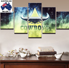 NQ Cowboys Modern Canvas Wall Art Picture Landscape (5piece)