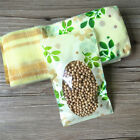 Resealable Ziplock Bags Pouch Green Leaf Retail Packaging For Tea Snack Food