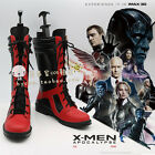 x-men Deadpool Cosplay Shoes Boots for Helloween Customized Men''s Shoes